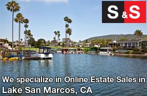 We are Lake San Marcos Estate Liquidators. We specialize in Online Estate Sales In Lake San Marcos.
