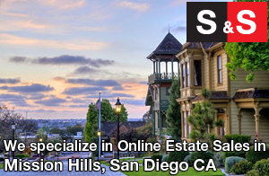 We are Mission Hills Estate Liquidators. We specialize in Online Estate Sales In Mission Hills.