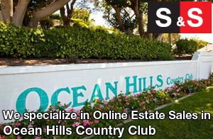 We are Ocean Hills Estate Liquidators. We specialize in Online Estate Sales In Ocean Hills.