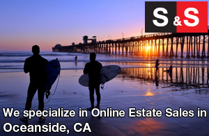 We are Oceanside Estate Liquidators. We specialize in Online Estate Sales In Oceanside.