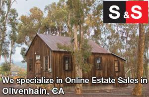 We are Olivenhain Estate Liquidators. We specialize in Online Estate Sales In Olivenhain.