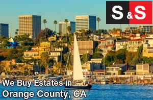 We are Orange County Estate Buyers