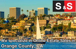 We are Orange County Estate Liquidators. We specialize in Online Estate Sales In Orange County.