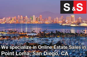 We are Point Loma Estate Liquidators. We specialize in Online Estate Sales In Point Loma.
