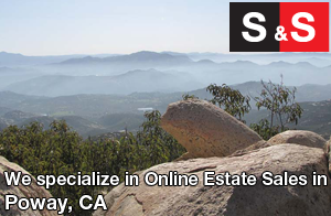 We are Poway Estate Liquidators. We specialize in Online Estate Sales In Poway.