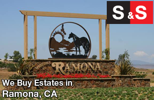 We are Ramona Estate Buyers