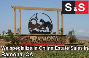 We are Ramona Estate Liquidators. We specialize in Online Estate Sales In Ramona.