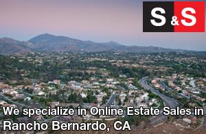 We are Rancho Bernardo Estate Liquidators. We specialize in Online Estate Sales In Rancho Bernardo.