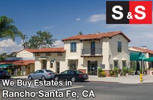 We are Rancho Santa Fe Estate Buyers