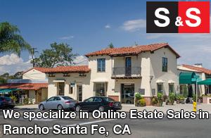We are Rancho Santa Fe Estate Liquidators. We specialize in Online Estate Sales In Rancho Santa Fe.