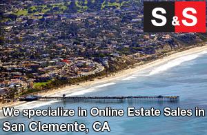 We are San Clemente Estate Liquidators. We specialize in Online Estate Sales In San Clemente.