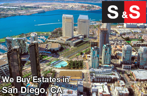 We are San Diego Estate Buyers