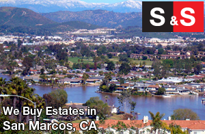 We are San Marcos Estate Buyers