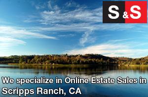 We are Scripps Ranch Estate Liquidators. We specialize in Online Estate Sales In Scripps Ranch.