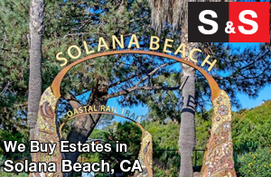 We are Solana Beach Estate Buyers