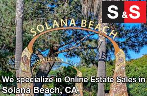 We are Solana Beach Estate Liquidators. We specialize in Online Estate Sales In Solana Beach.