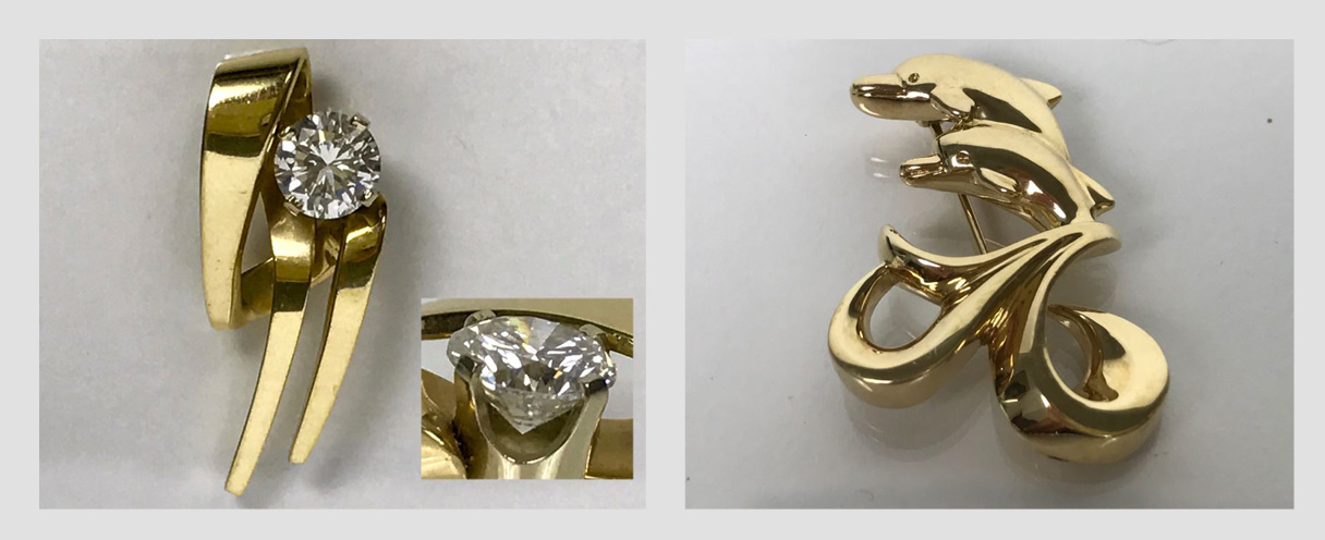 Combined Online Estate Sale: Featuring Fine 18K And 14K Jewelry With Diamonds, Emeralds, Sapphires, Rubies, Aquamarines And More
