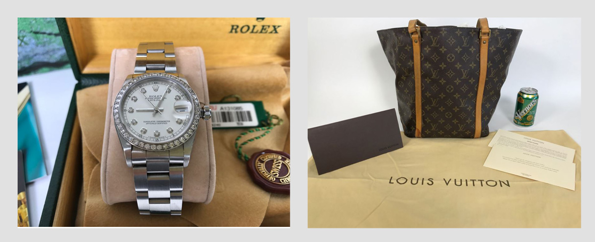 Temecula Whole House Online Estate Sale: Featuring A ROLEX Oyster Diamond Ladies Watch And LOUIS VUITTON Handbags
