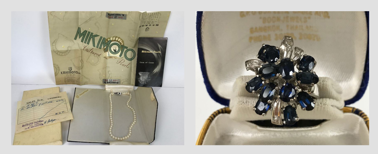 Combined Online Estate Sale: Featuring a MIKIMOTO Pearl Chocker Necklace and more Fine Jewelry