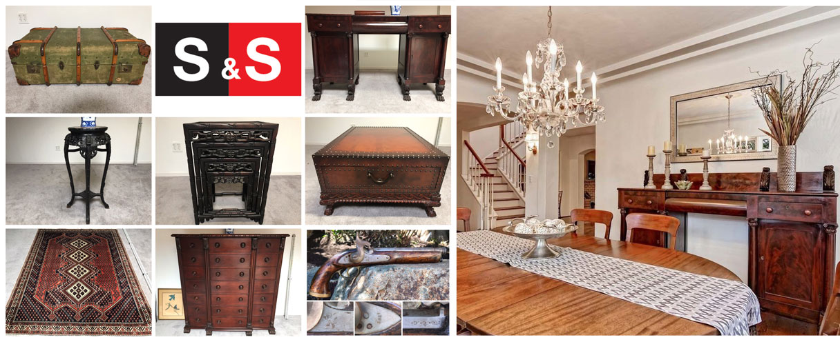 Classy Coronado Estate: Featuring Ralph Lauren Furniture, Persian Rugs, an Antique Gun and more