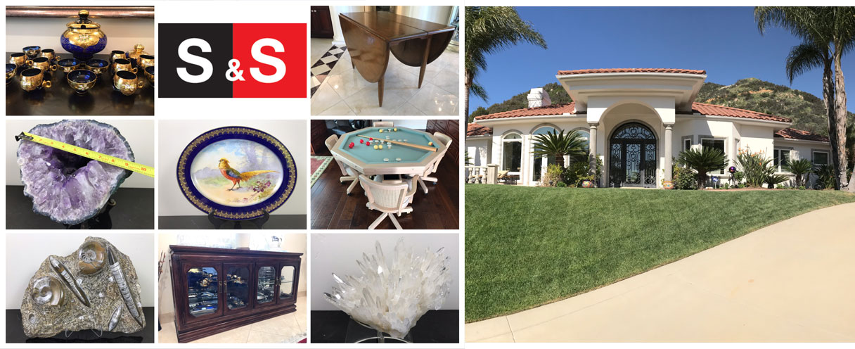 Bear Creek Murrieta Online Auction Moving Sale: Featuring Nice Furniture, Home Decor, Murano Glass, A Large Amethyst Geode And More