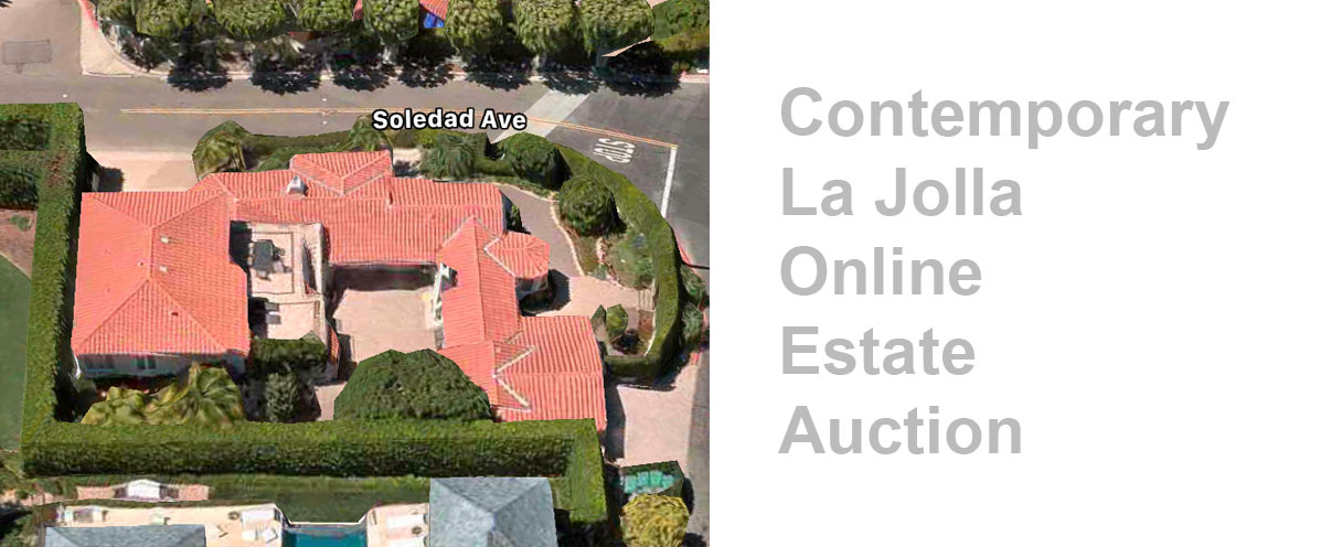 La Jolla Online Estate Auction: Featuring Contemporary Furniture And Home Decor