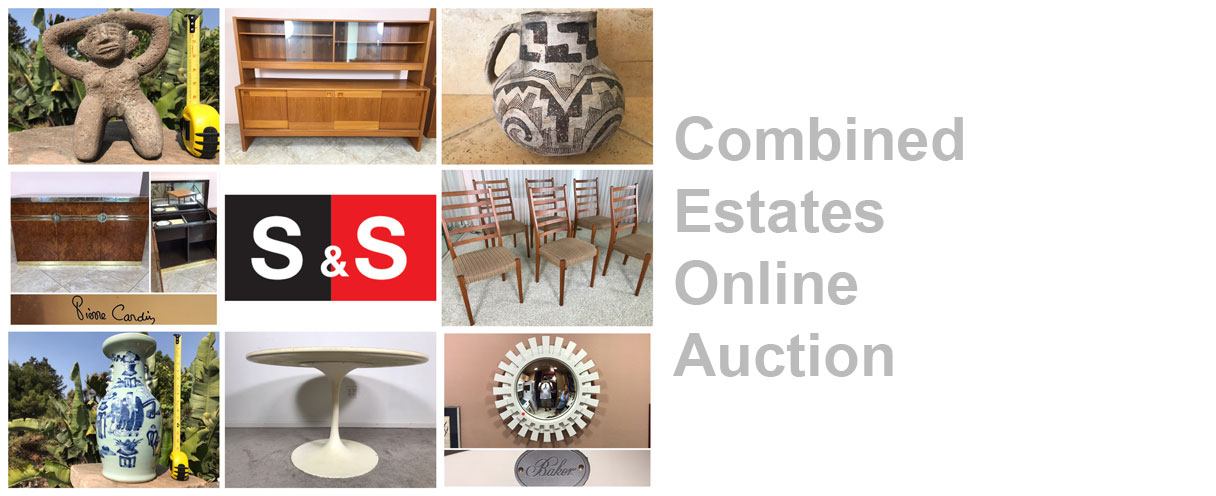 Combined Estates Online Auction: Featuring Danish Modern Teak Furniture, Artwork And Collectibles