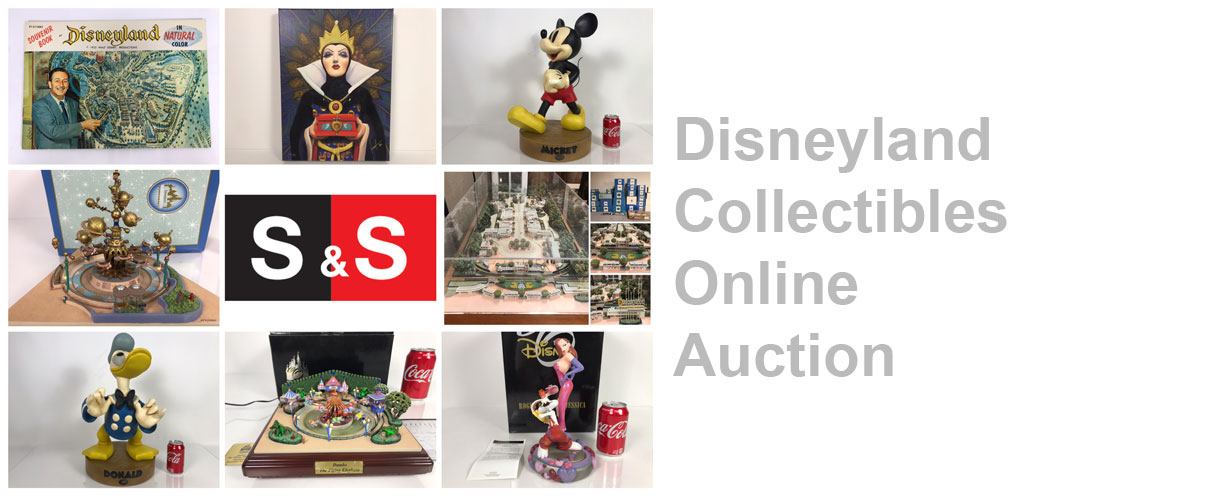Collectibles Online Auction: Featuring Disneyland / Disney Collectibles