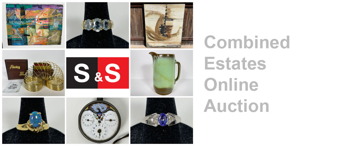 Combined Estates Online Auction: Featuring Fine Jewelry, Collectibles And Artwork