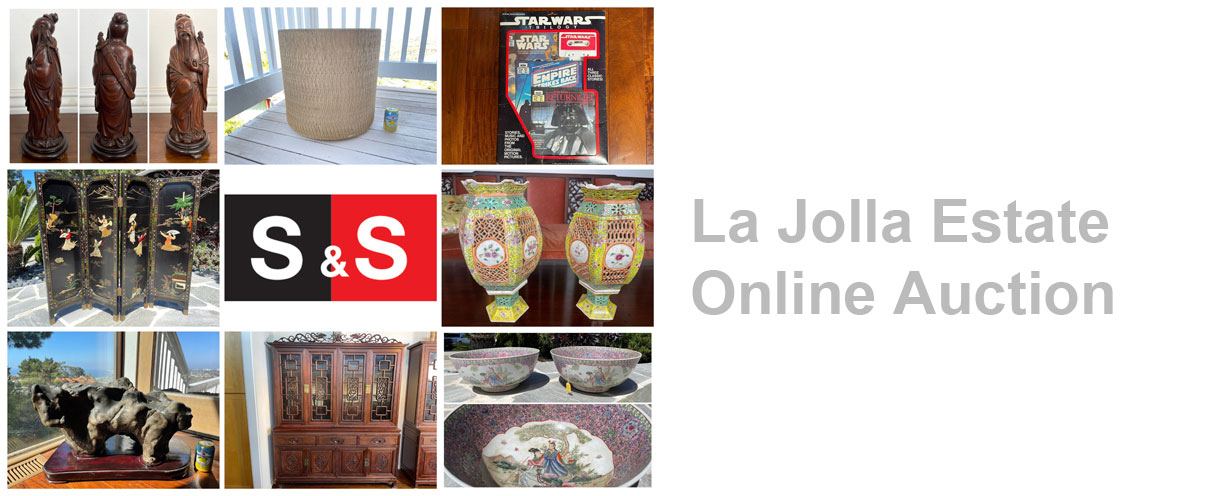 La Jolla Estate: Featuring Chinese Furniture And Collectibles